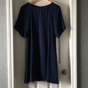 Zara mini dress blue